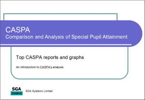 Top CASPA reports and graphs title slide